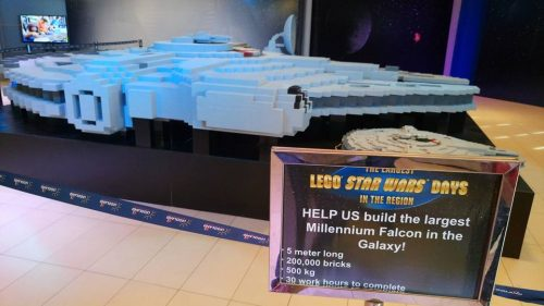 Biggest Millenium Falcon in the World