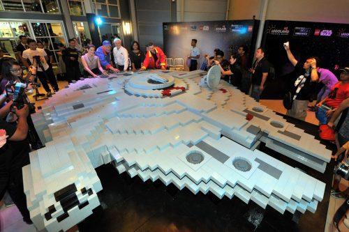 Largest LEGO Millenium Falcon