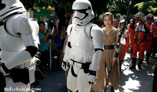 Star Wars Parade-Rey