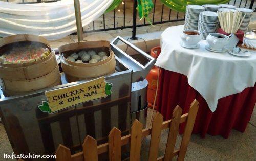 Pau Ayam dan Dim Sum