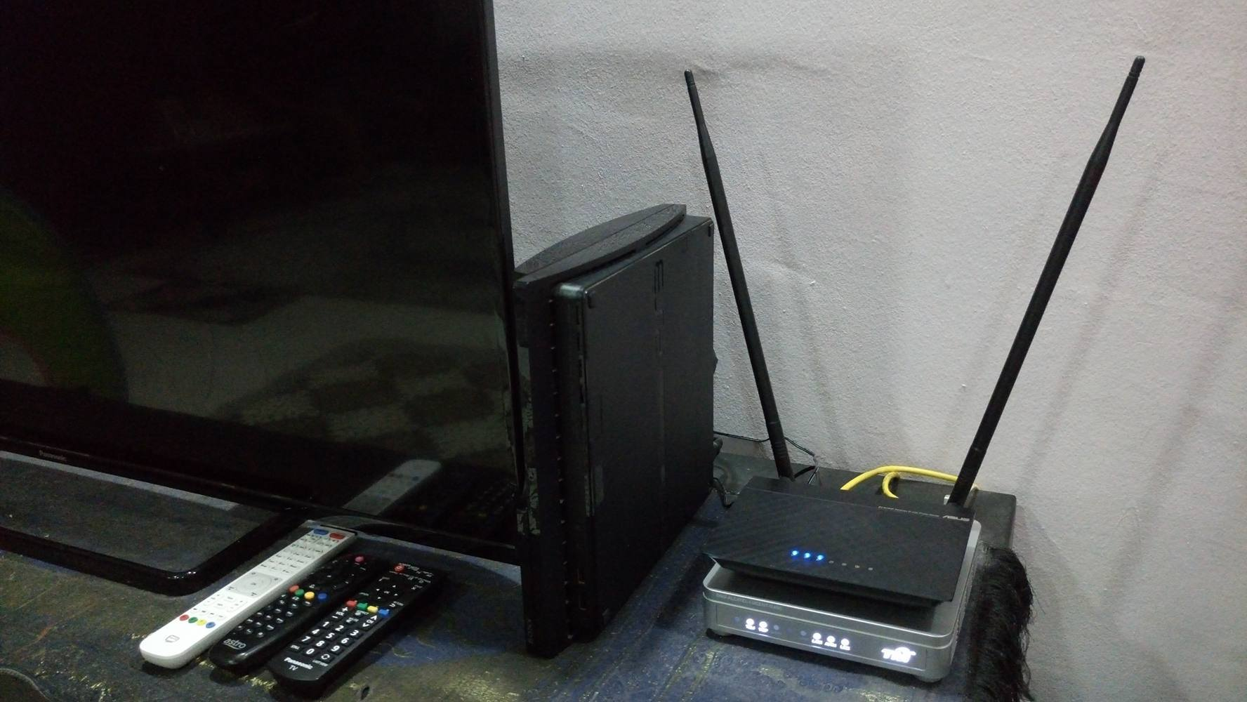 Setup ASUS router UniFi