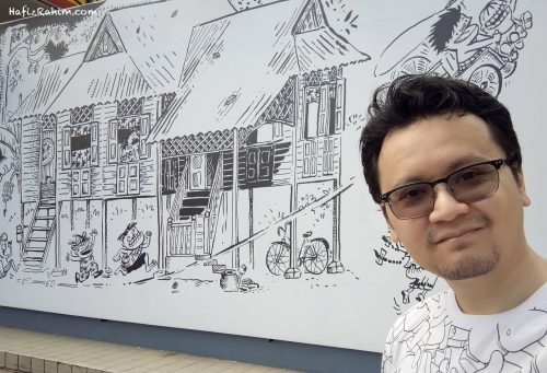 Mural Art Kampung Boy_Shell