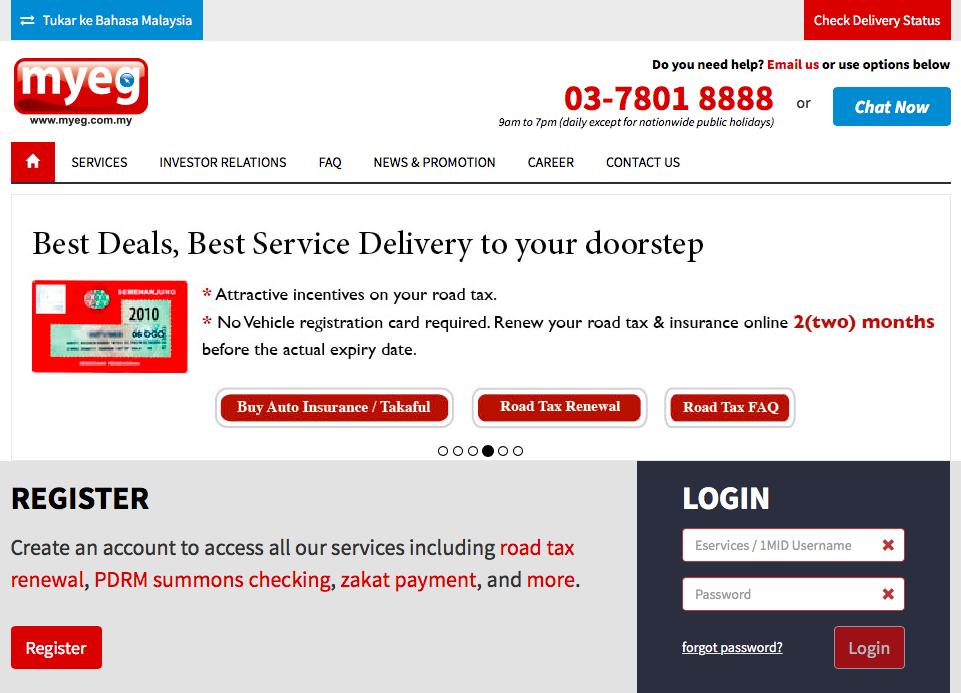 Myeg The Flagship E Government Solutions And Services Provider In Malaysia